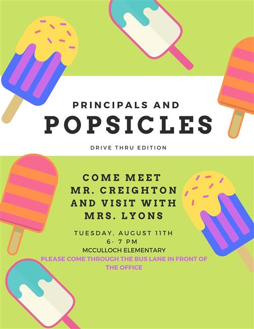 Principals and Popsicles