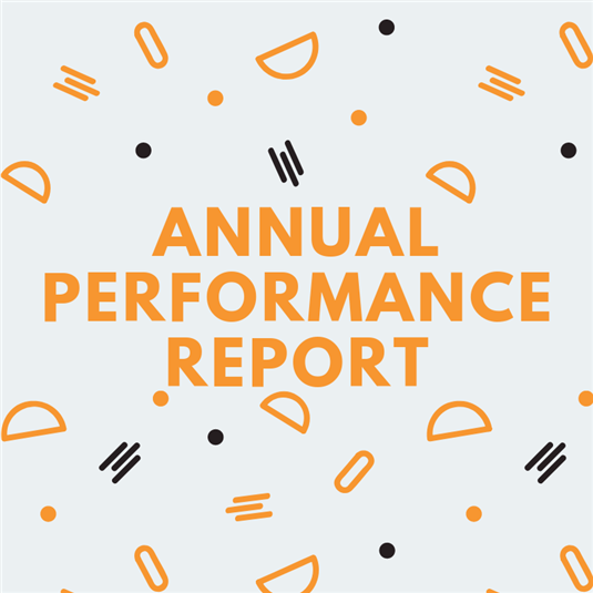 Annual Performance Report Released
