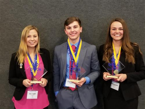 3 DECA Students Qualify for International Competition