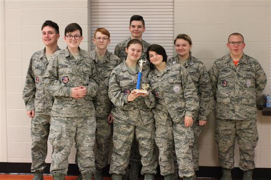 RHS AFJROTC Flying Tigers Archery Team Headed to STATE