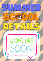Summer School Coming Soon