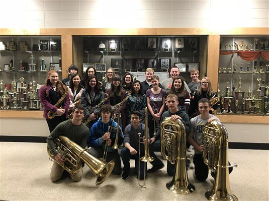 27 RHS Band Students Qualify for State