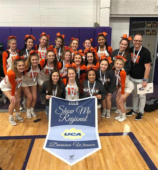 RHS Cheer Team Headed to Nationals