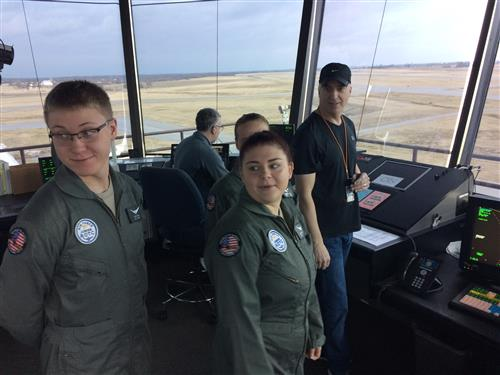 Honors Ground School Control Tower Tour